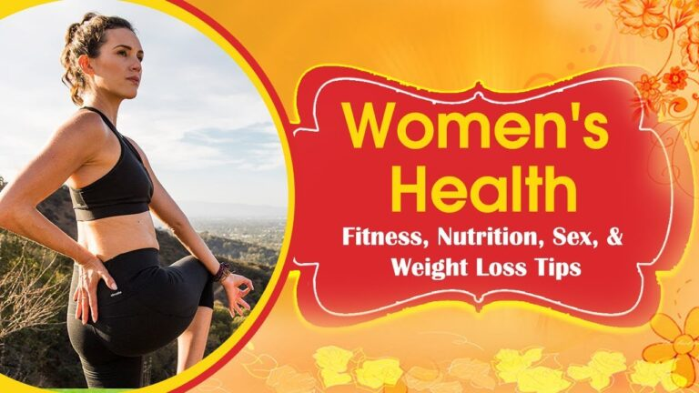 Health and Fitness Advice for Women | Essential Health and Fitness Tips