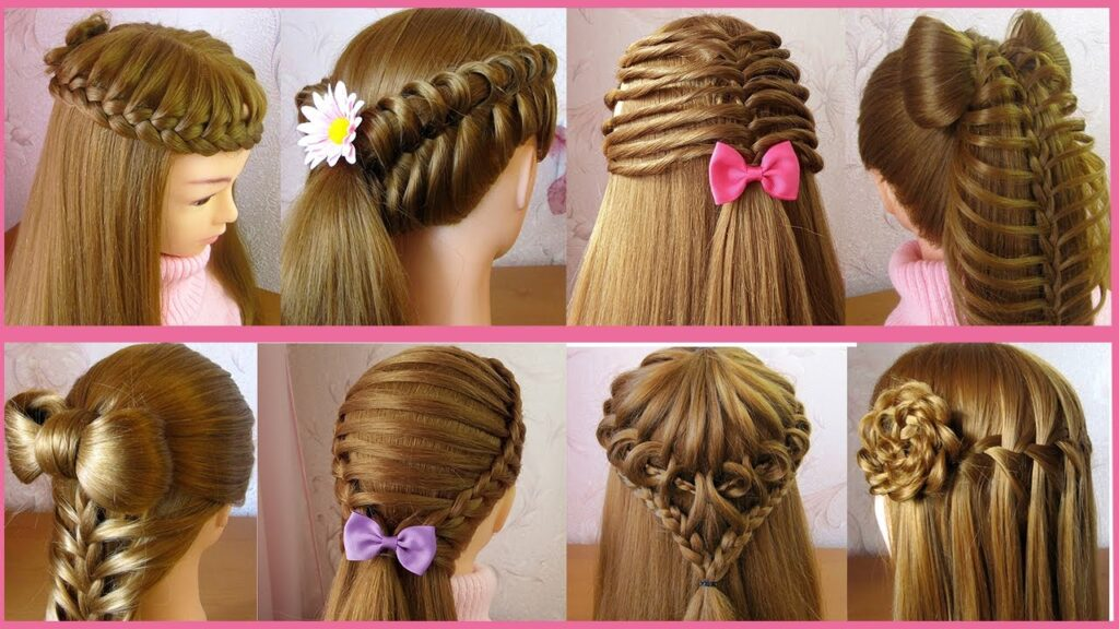 Stylish New Hairstyle for Girls