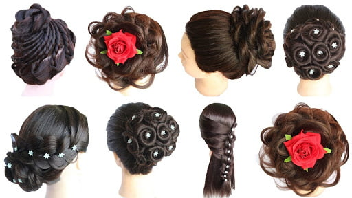 Hairstyles for Party and wedding