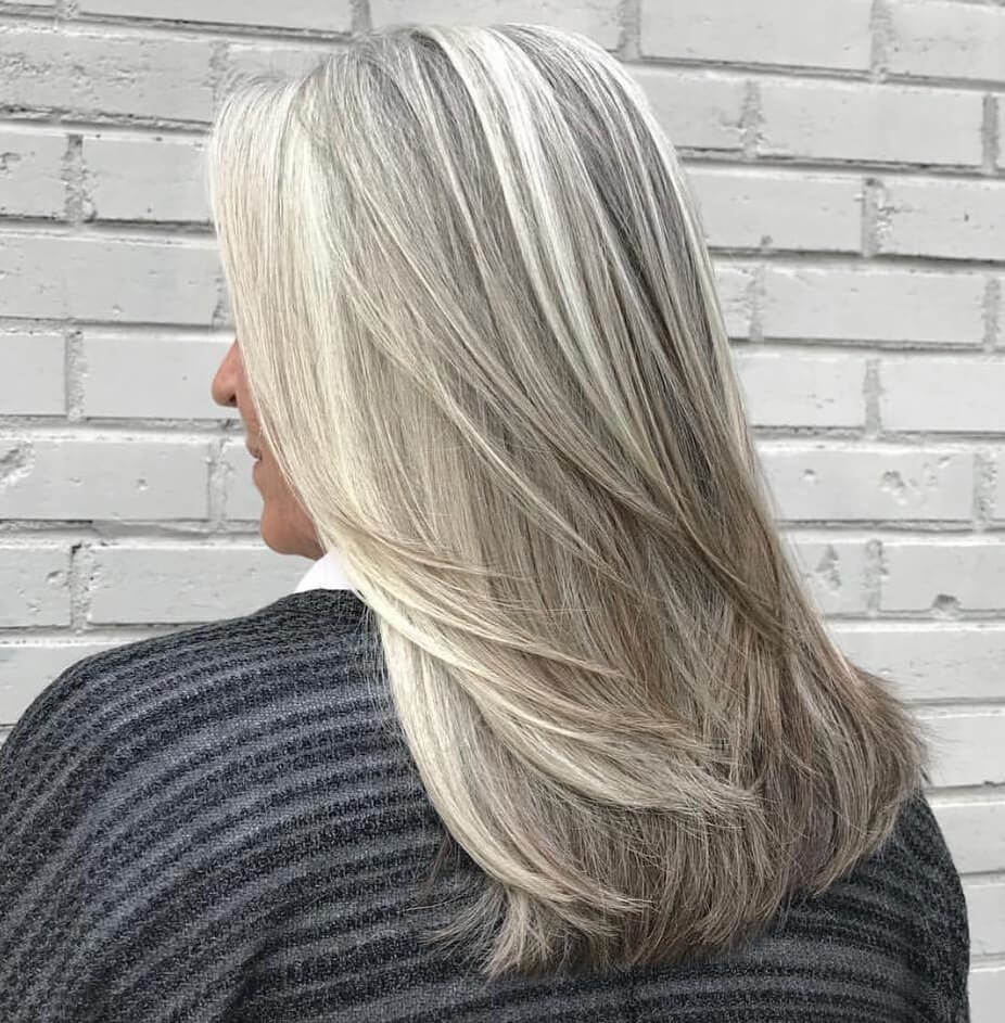 old age hair style